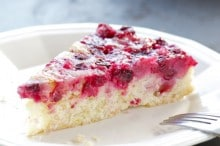 Sit down and have a slice of Namely Marly's Orange Cranberry Upside Down Cake